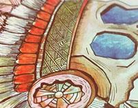 hippy skull