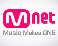Mnet - Channel Ident Motion Graphics
