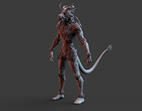 Game ready character Forest Keeper