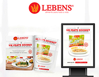 Advertising campaign for Lebens