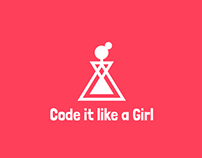 Code it Like a Girl - Visual brand