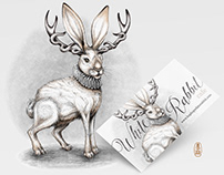 White Rabbit Jack Illustration