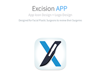 Excision App Icon and Logo