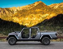 Jeep Gladiator Launch - CGI & Retouching