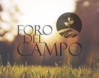 Diseño de imagen corporativa para FORO DEL CAMPO S.L.