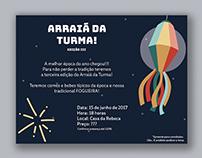 Convite: Arraiá da Turma!