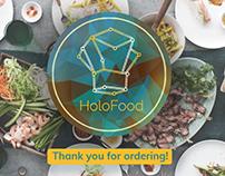 Holofood UI Design