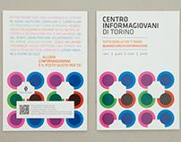 """Progetto grafico Carta Servizi """"Informagiovani"""""""