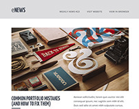 eNews - Responsive Email + Builder Access