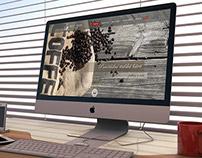Webdesign - coffee shop