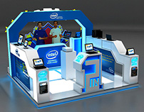 Intel Exhibition Stand