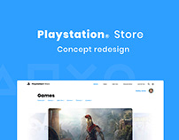Playstation Store Concept Redesign