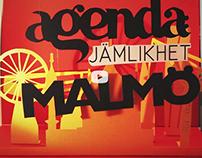 Agenda: Jämlikhet - A Hyper Island Student Project