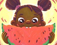 Childhood Week Illustrations