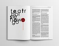 Redesign - TEATR magazine