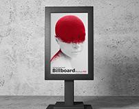 Free Advertisement Billboard Stand Mockup PSD