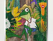 Señor Frog`s Puerto Rico (interior design sketch)