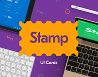 Stamp – UI Cards