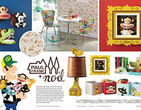 Paul Frank for Land of Nod Product Collection