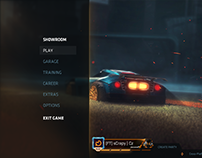 Rocket League - Lobby Redesign