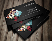 Personal Photography Business Card