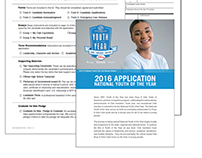 Youth of the Year Application & Pilot Website