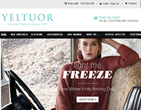 YELTUOR – Online Fashion Store Website