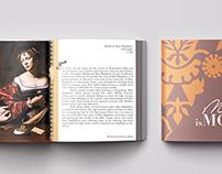 Italian Renaissance Art Exhibit Brochure