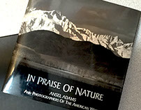 In Praise of Nature exhibit catalog & promotional items