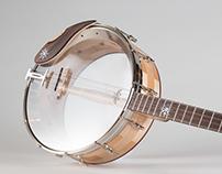 Custom 17 Fret Irish Tenor Banjo