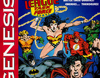 Justice League Task Force Fighting Game (Genesis)