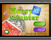 Money Counter XS - Kids App Concept