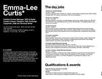 The Credentials: CV