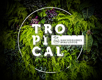 Tropical Hambúrgueres do Brasil - identidade visual