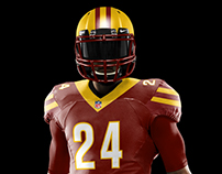 Washington Redskins Rebrand and Integrated Branding