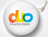 Duo - Soluções Digitais | Identidade Visual e logo