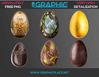 Easter Eggs – Free PNG