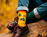 collection of socks, autumn - winter 2016