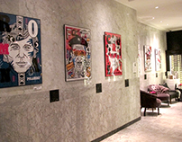 Exhibition of posters in HOTEL BRISTOL, Warszaw Poland