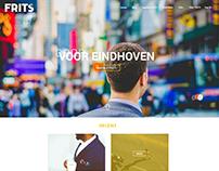 FRITS - Website design