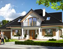Projekt domu Ofelia 3