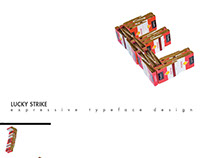 Lucky Strike —typography design