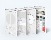 Native App : Skeuomorphic UI