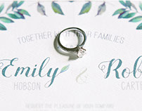 Hobson Carter Wedding Stationery