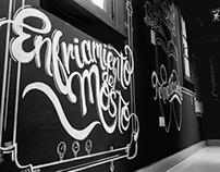 brewing process - mural