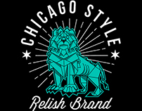 "Relish Brand ""Art Institute Lion"""