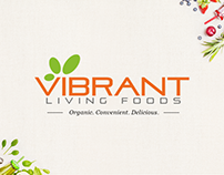 Vibrant Living Foods | Website & Communication Design