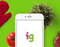 iGooods app for food delivery from supermarkets