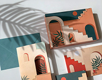 Staircases & Archways- Pop-Up Boxed Notes