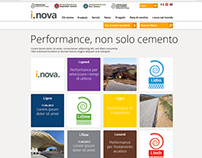 inova - product website